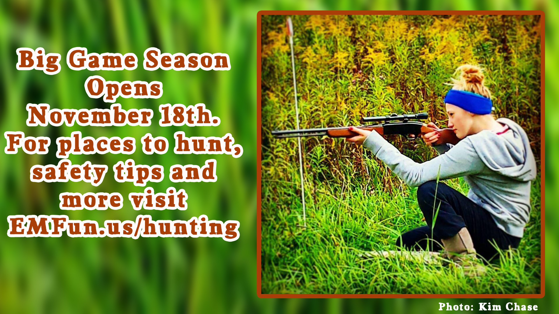 Hunting Season in Cattaraugus County 2017
