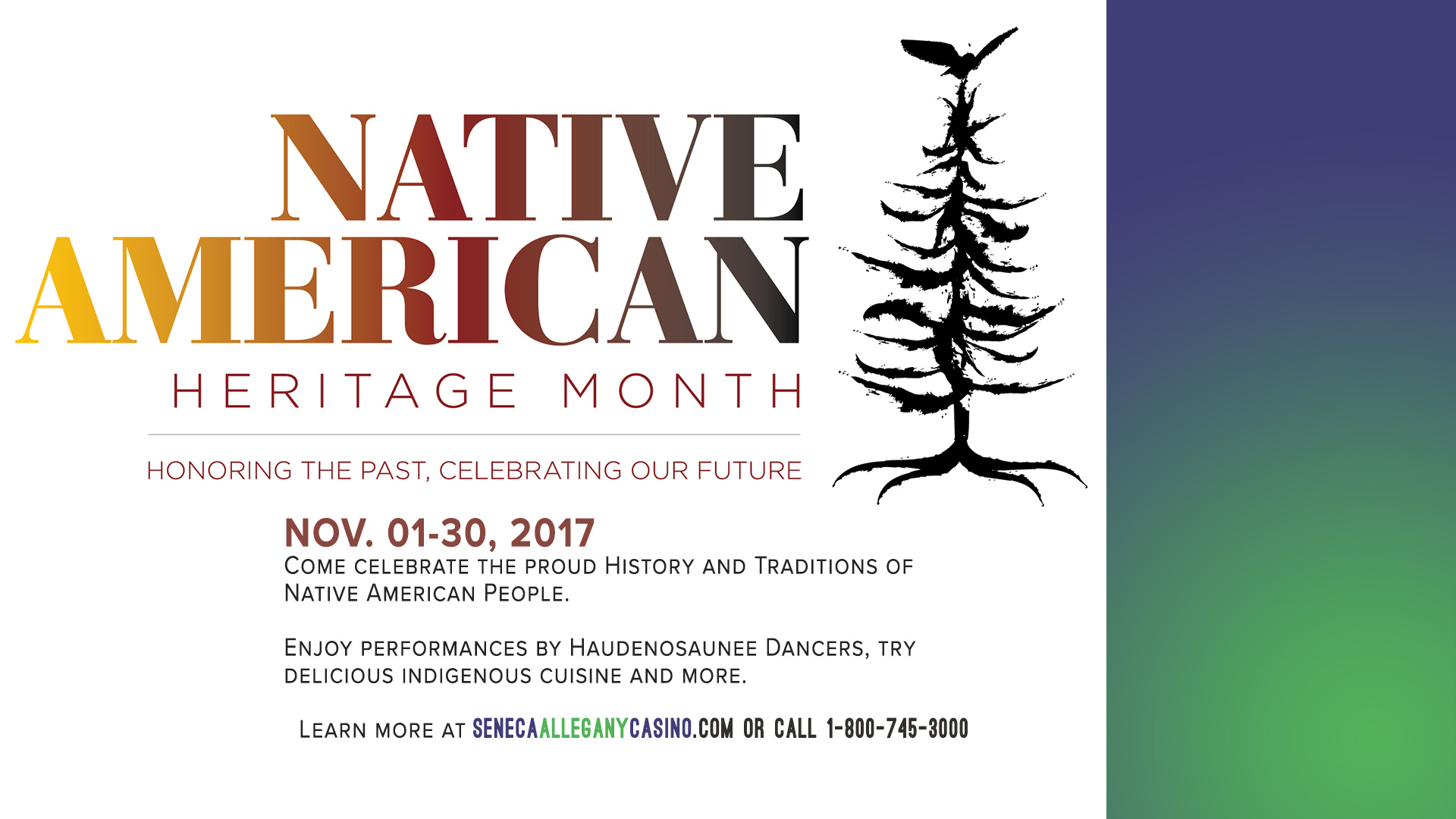 Native American Heritage Month at the Casino