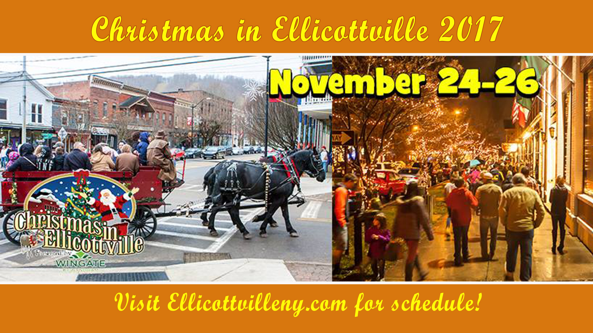 Christmas in Ellicottville 2017
