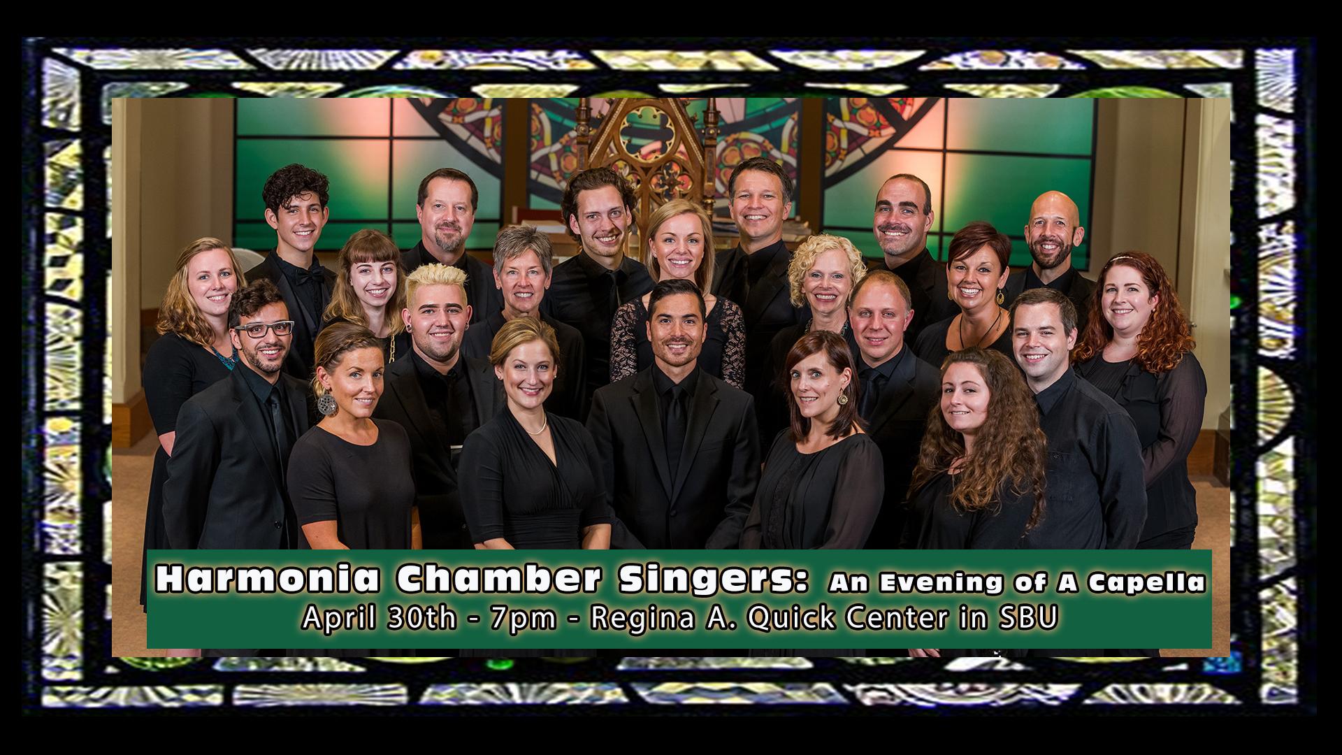 Harmonia Chamber Singer perform at St. Bonaventure