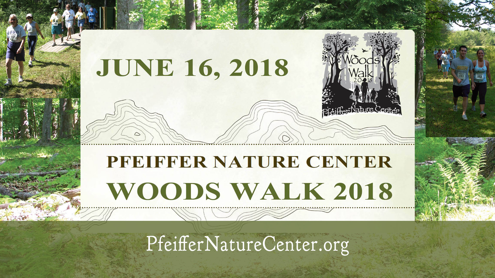 Pfeiffer Nature Center's Wood Walk