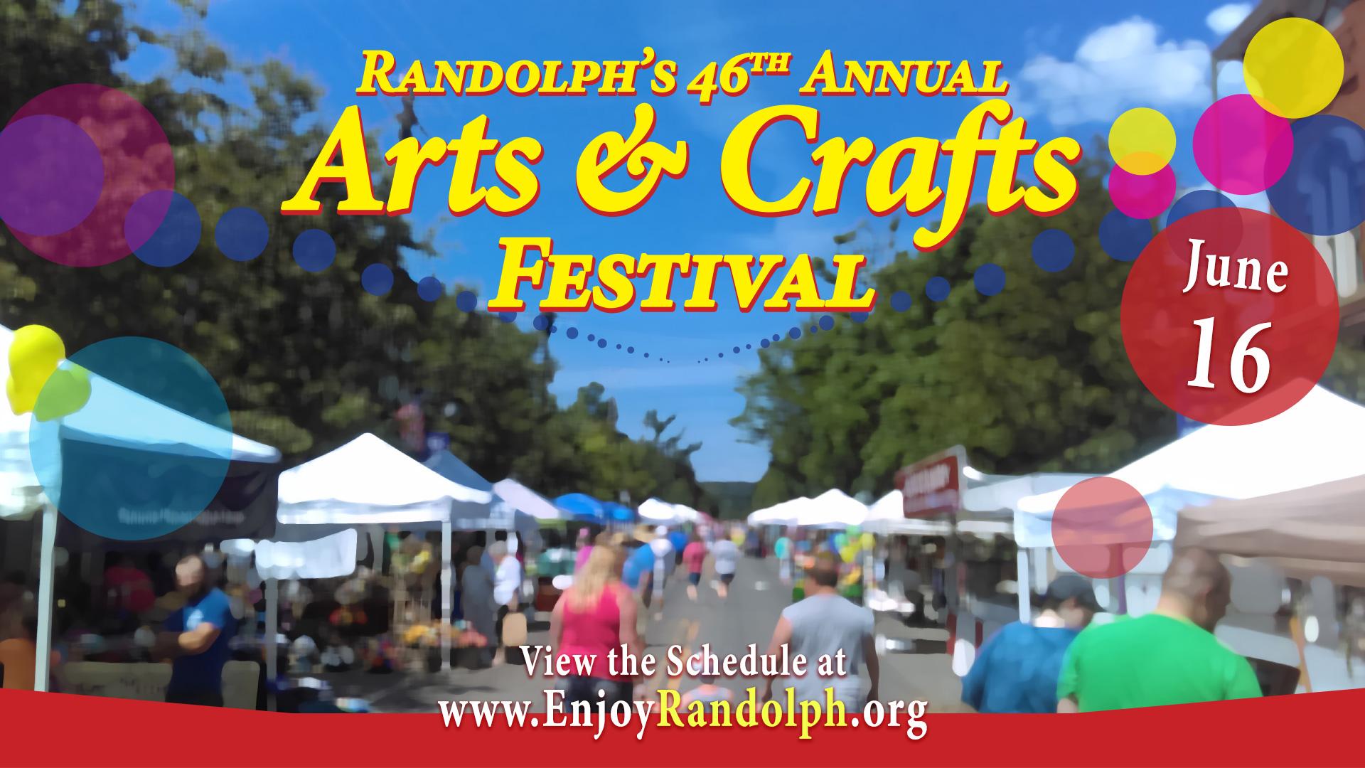 Randolph's Ars & Crafts Festival 2018