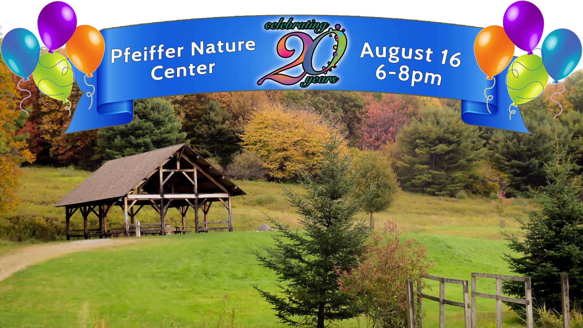 Pfeiffer Nature Center's 20th Anniversary Party