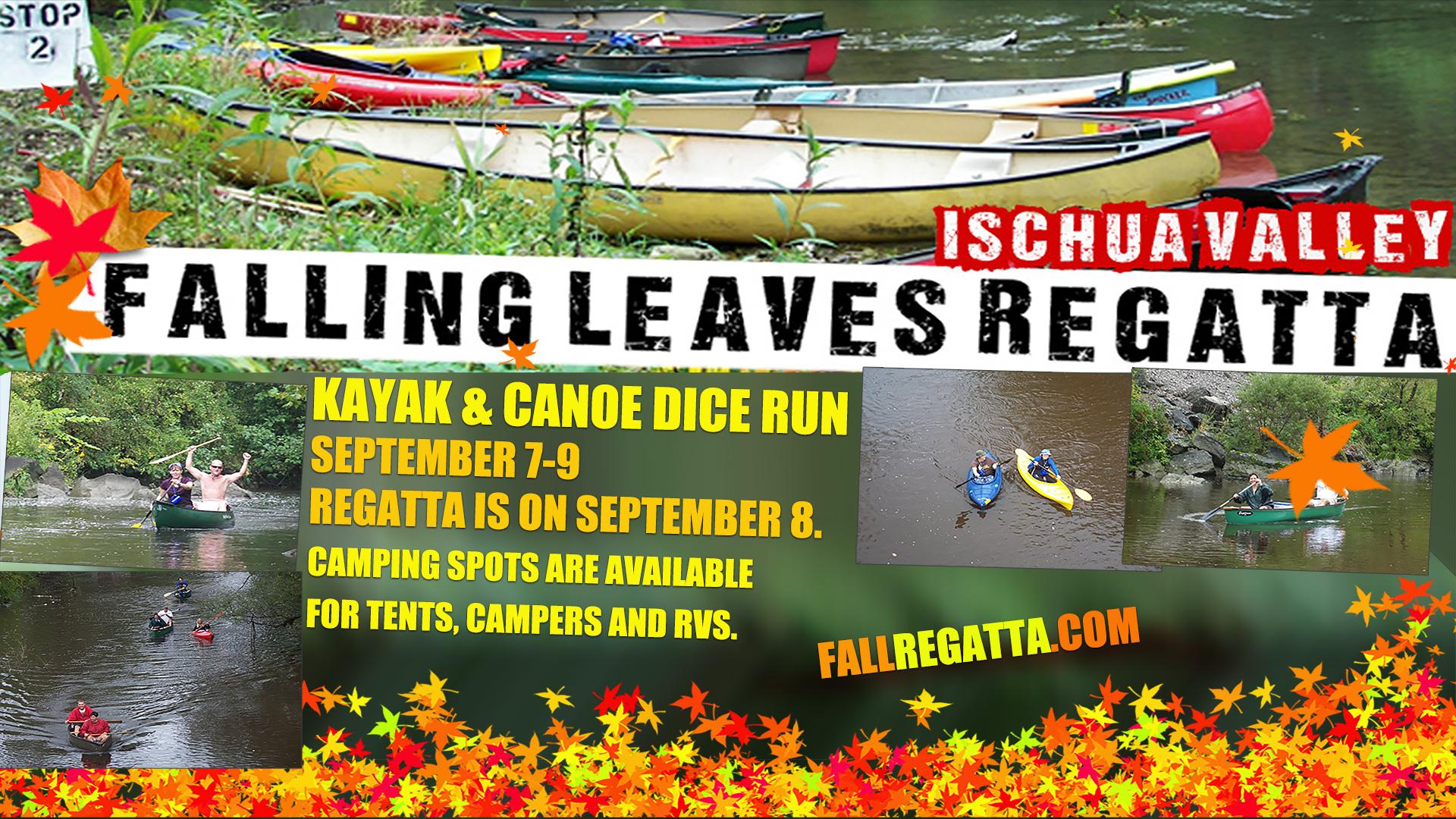 2018 Falling Leaves Regatta Cattaraugus County