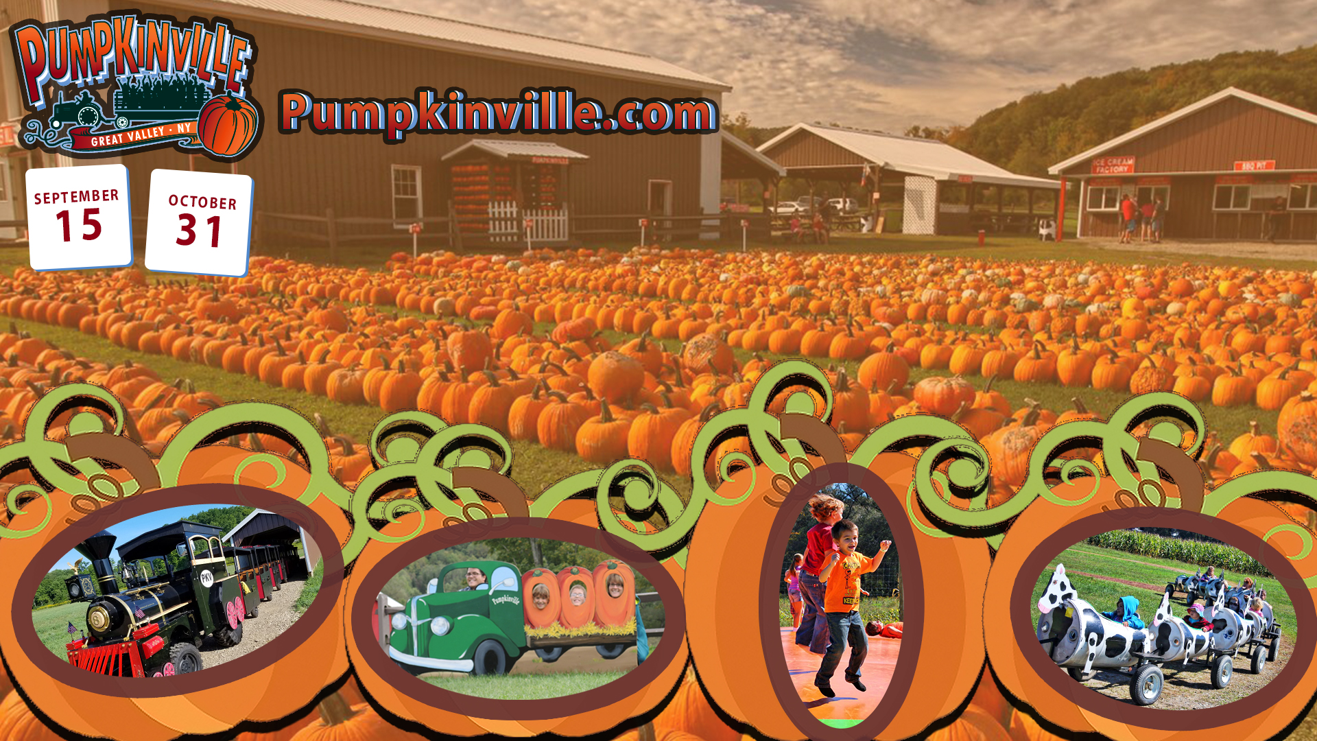 Pumpkinville opening 2018