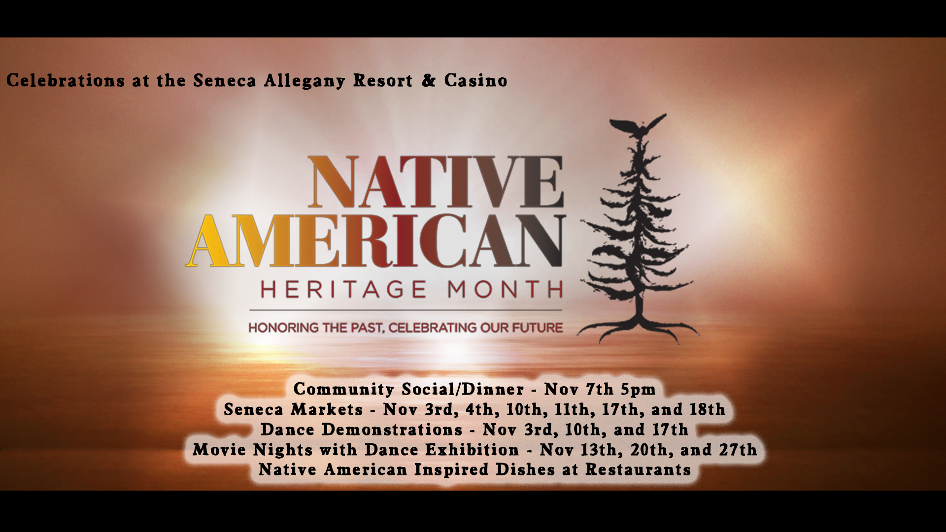 Native American Heritage Month 2018 at the Seneca Allegany Casino