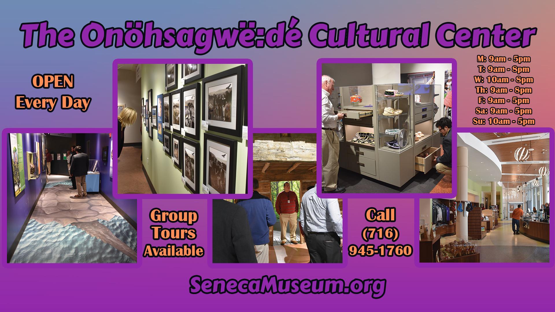 Visit the new Onöhsagwë:dé Cultural Center