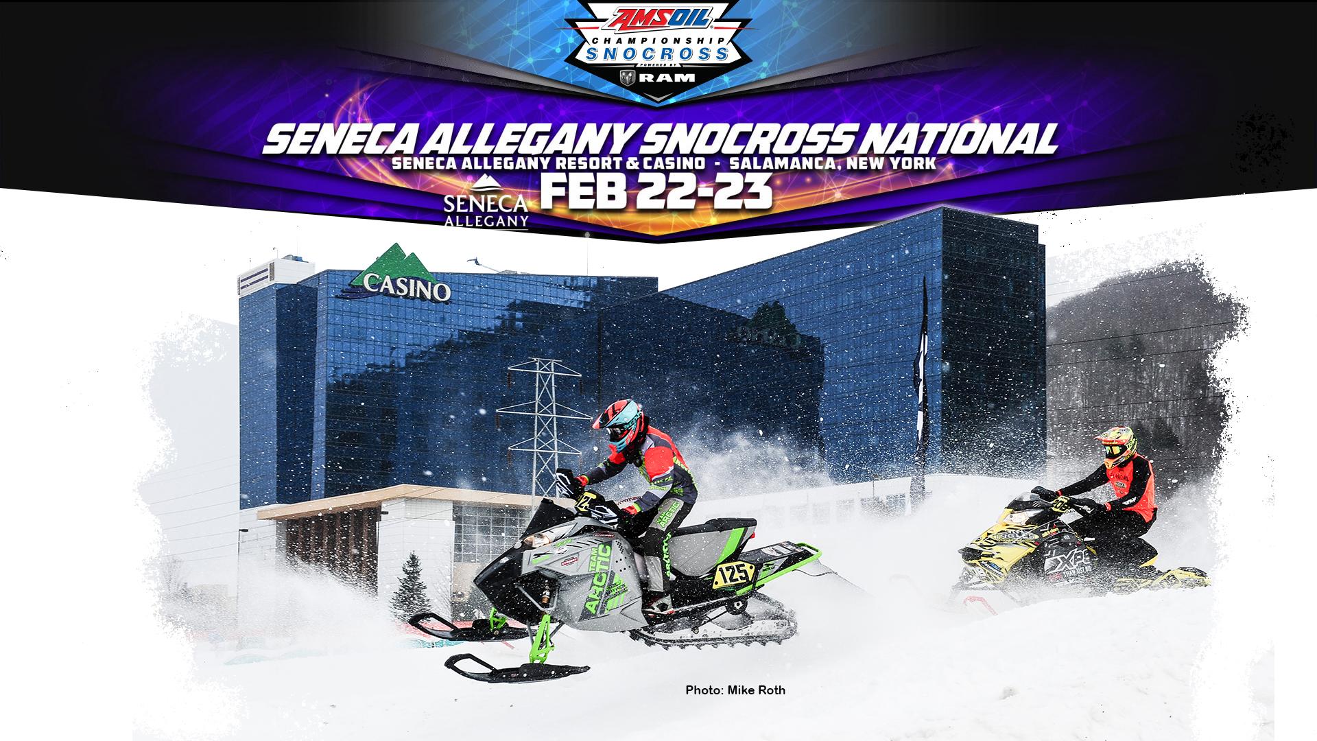 AMSOIL Snocross National at the Senca Allegany Casino