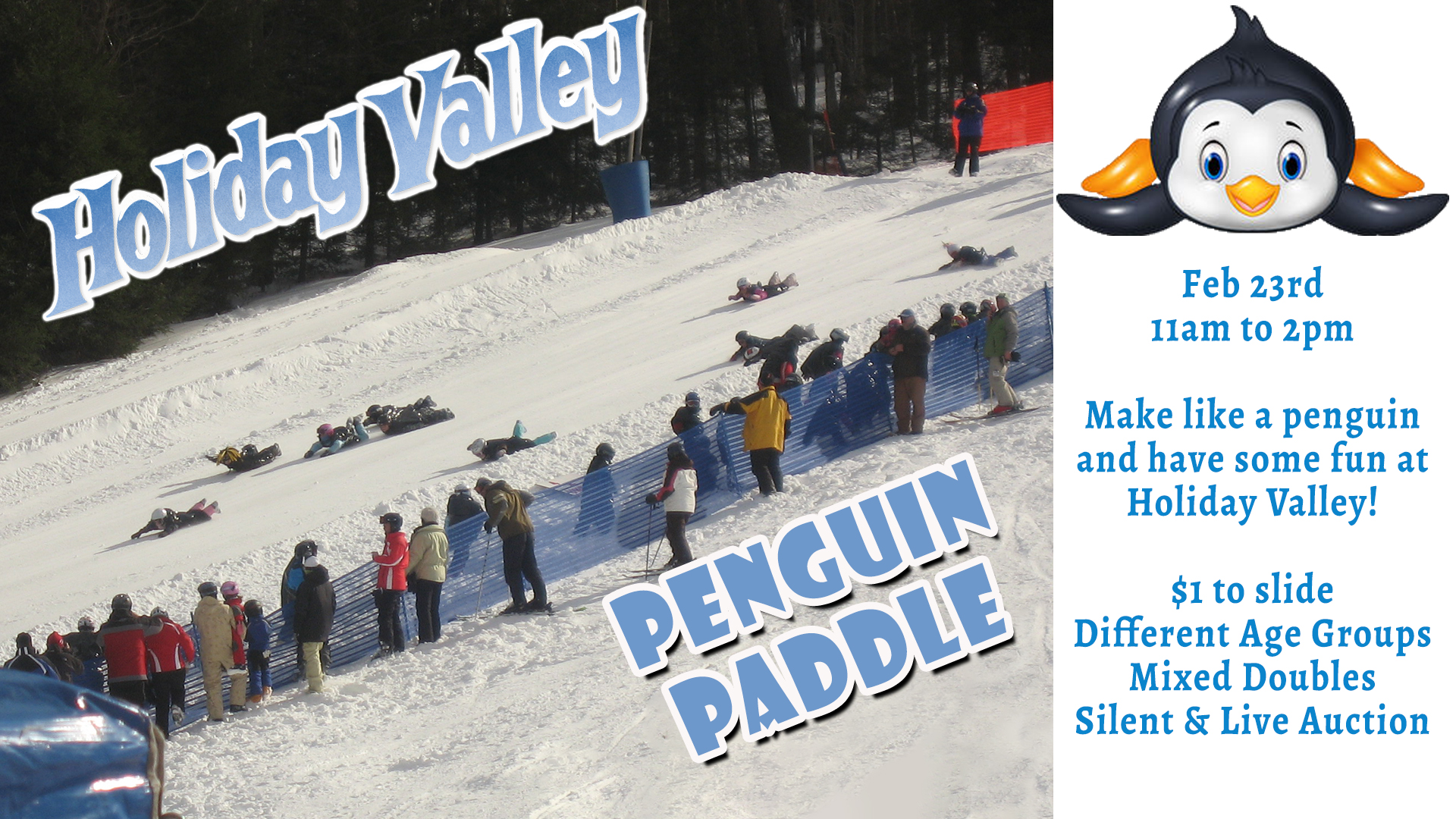 2019 Penguin Paddle Holiday Valley