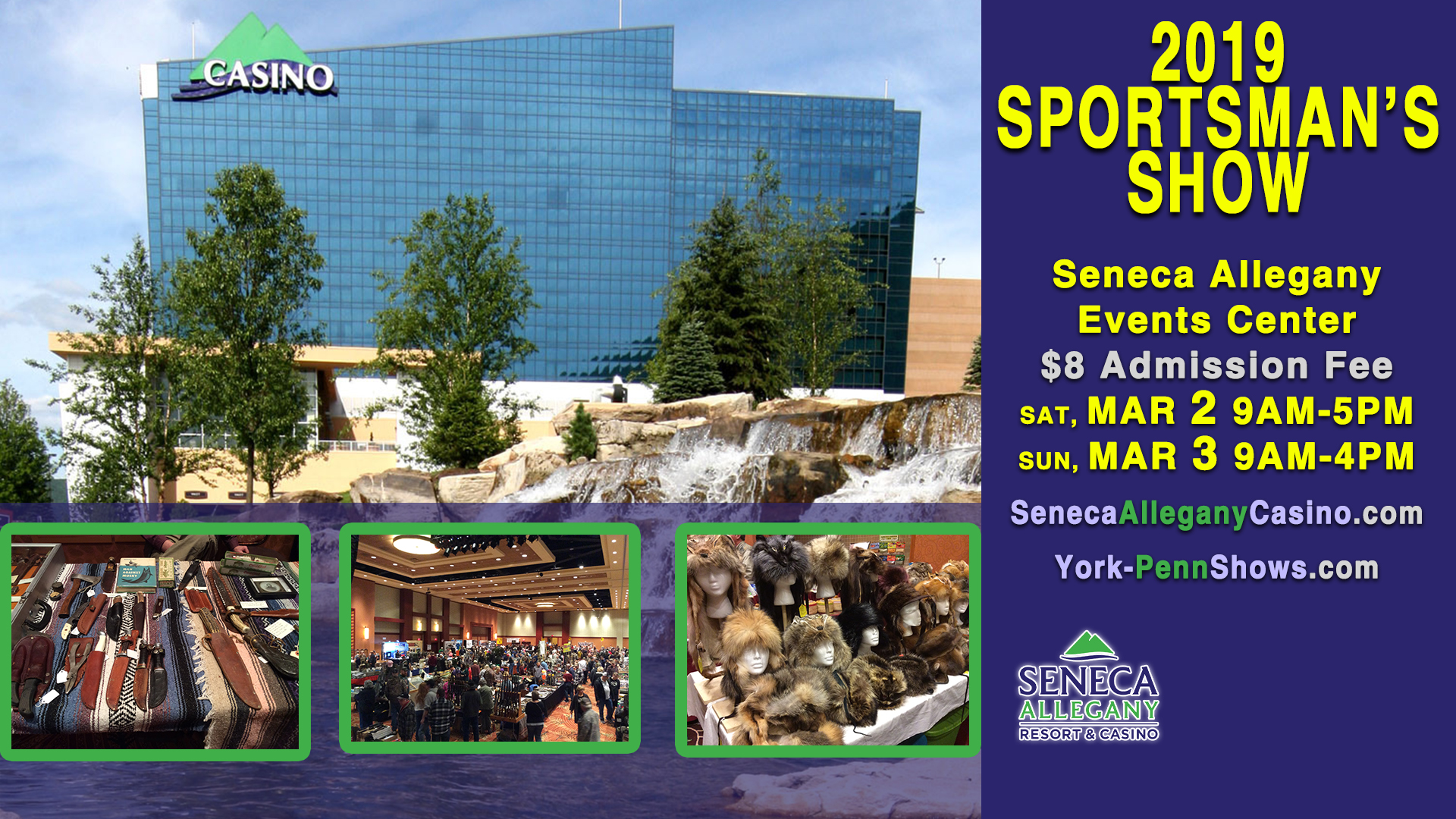 2019 Sportsman's Show at the Casino