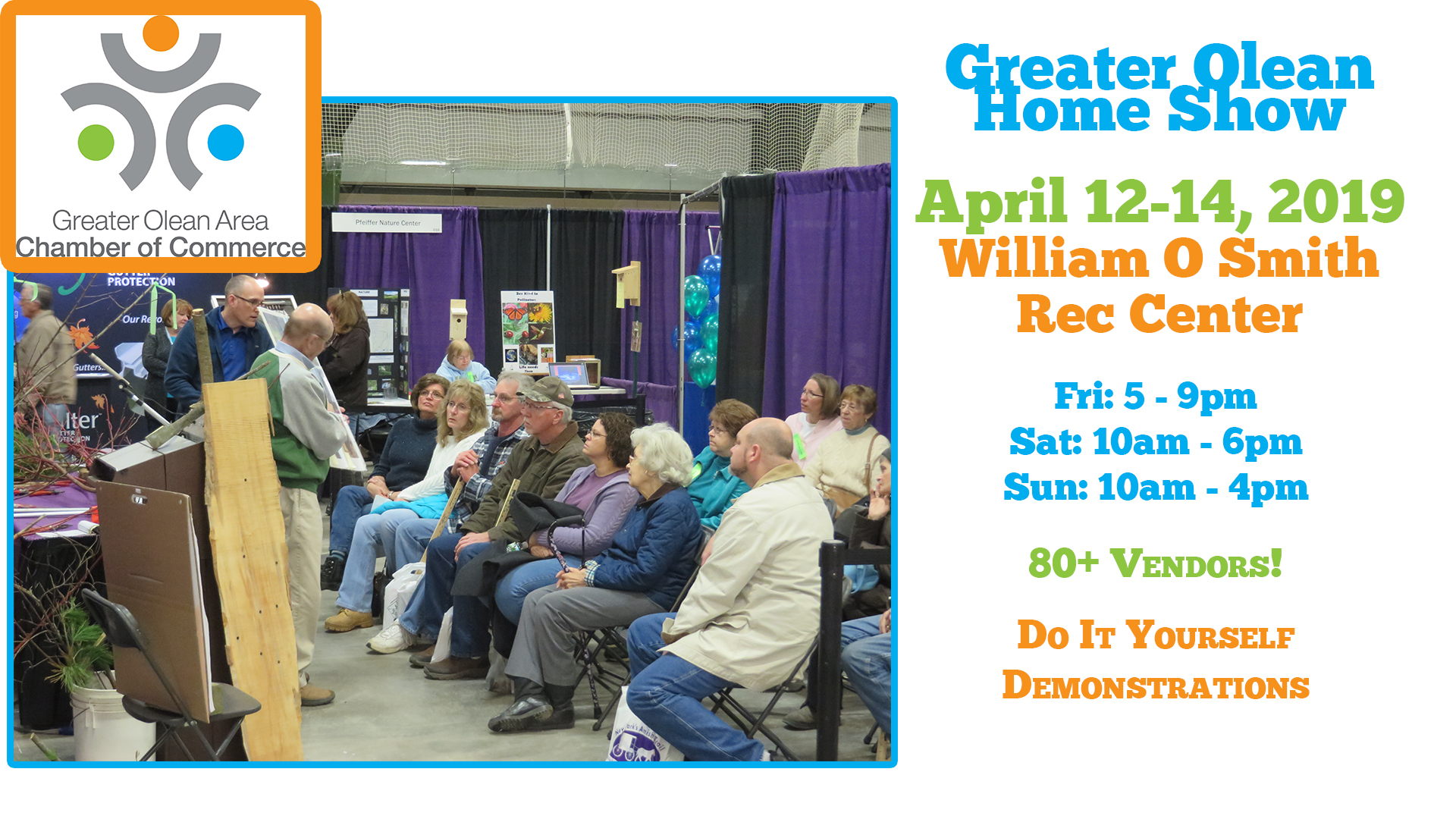 2019 Greater Olean Area Home Show