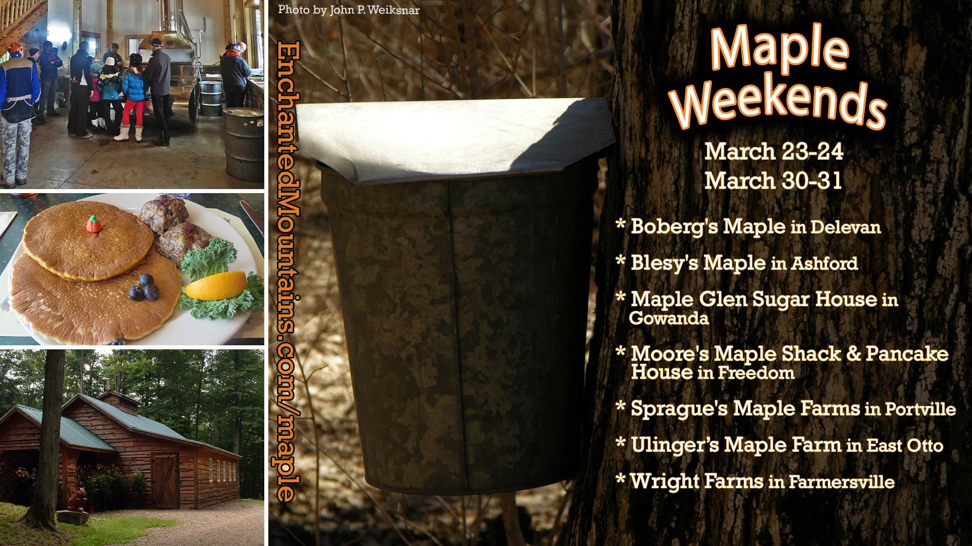 Maple Weekends 2019