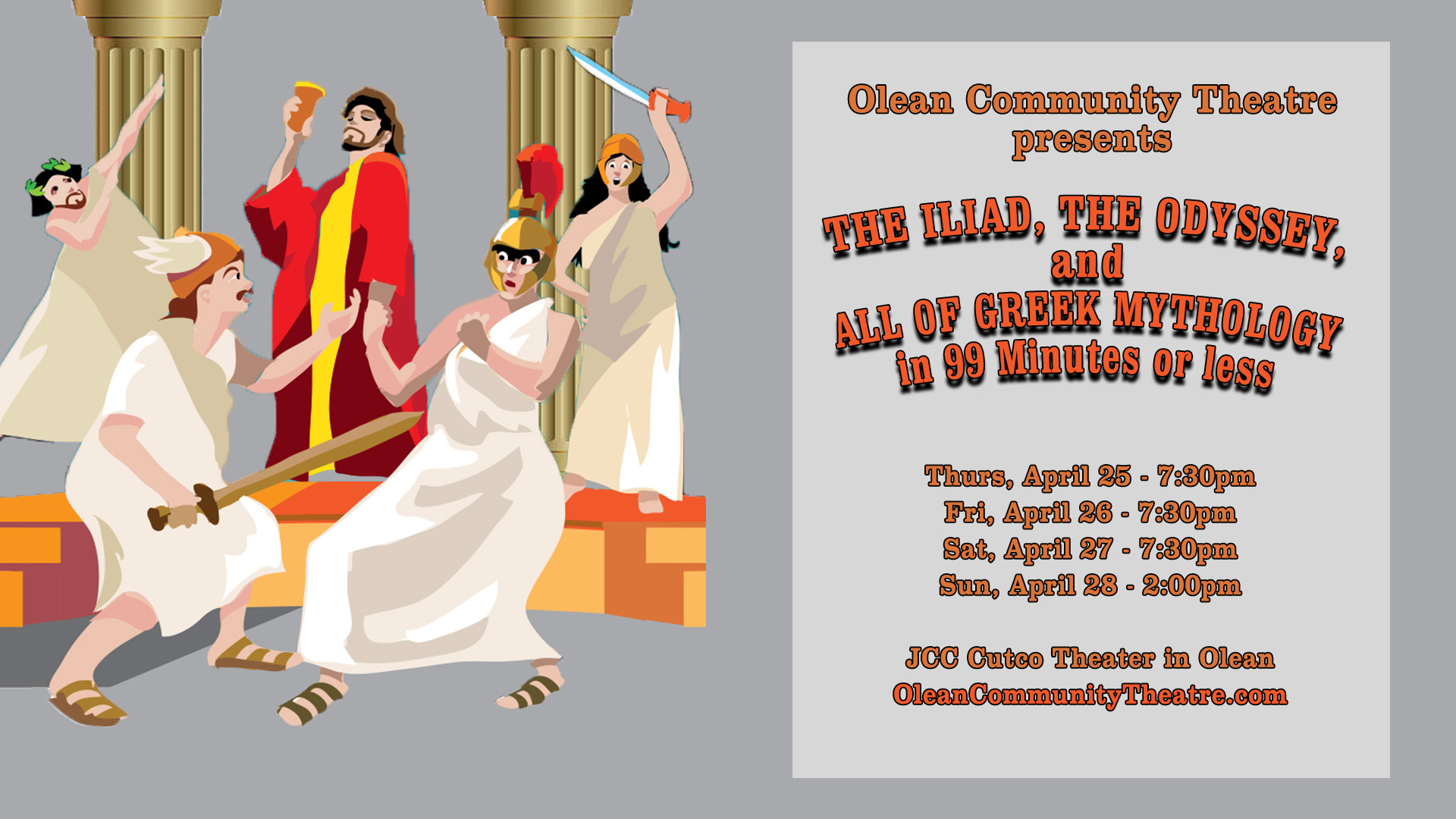 The Ilida by Olean Community Theatre