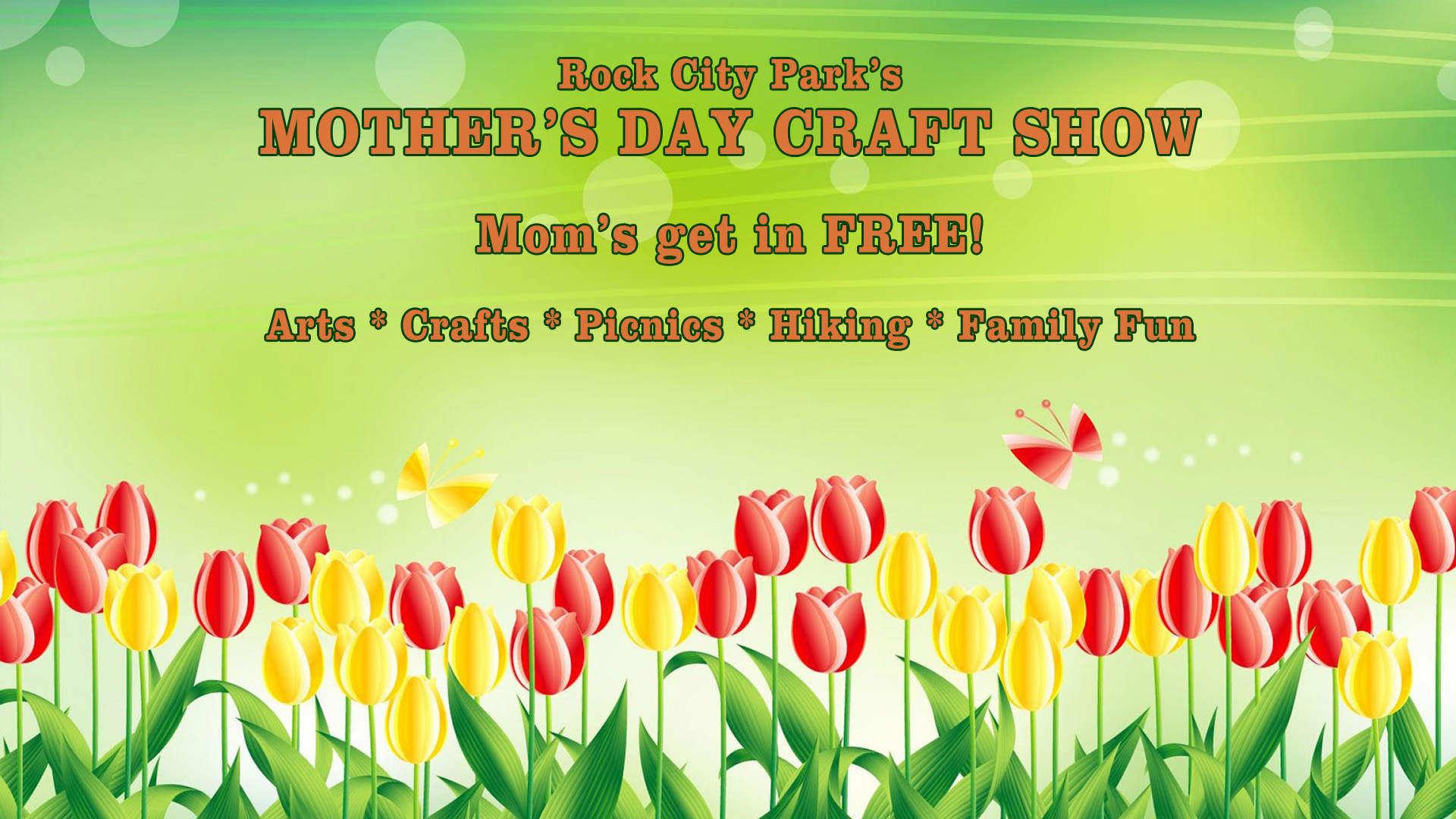 Rock City Park's Mother's Day Craft Show