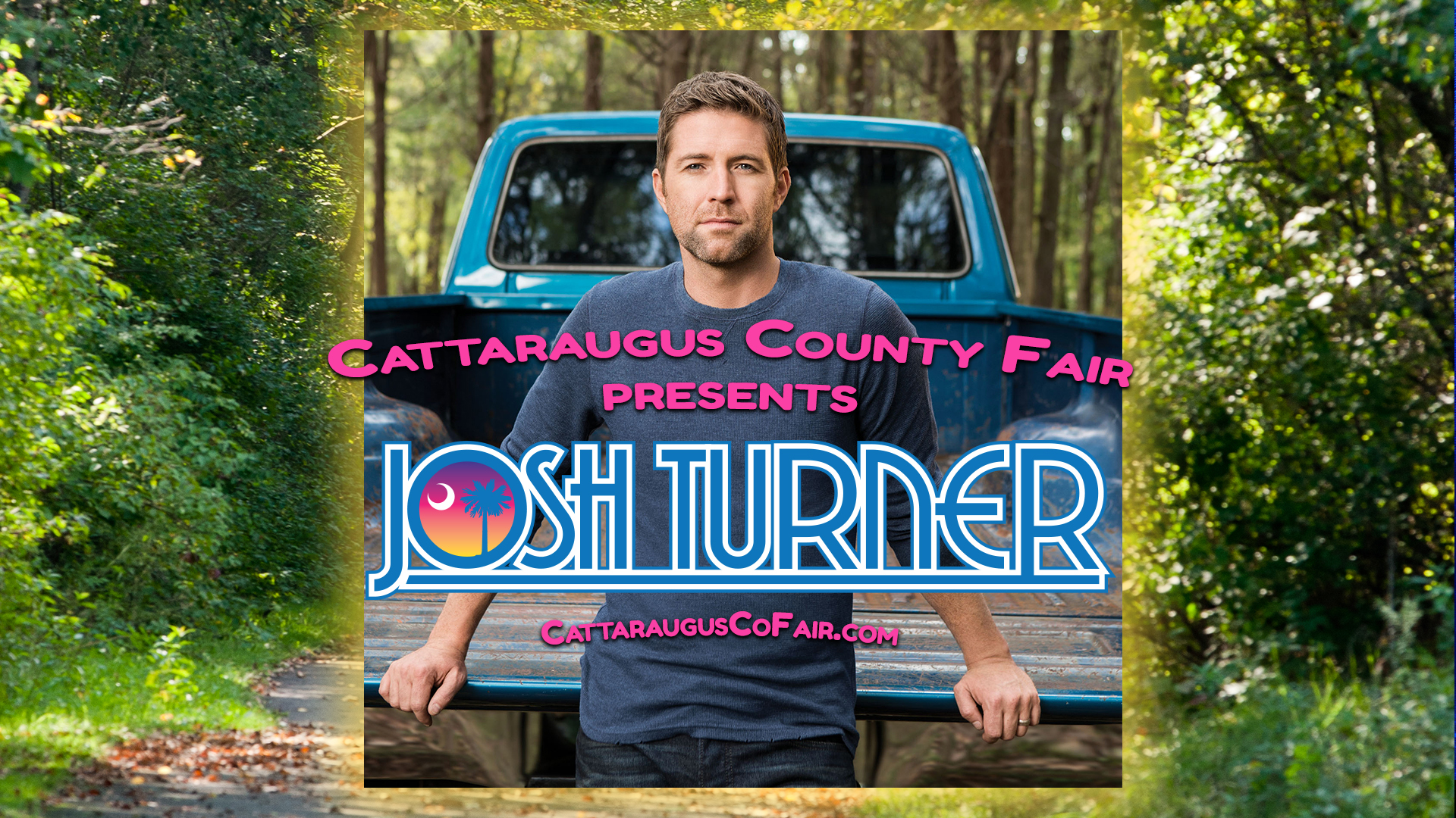 Josh turner at the Cattaraugus County Fair