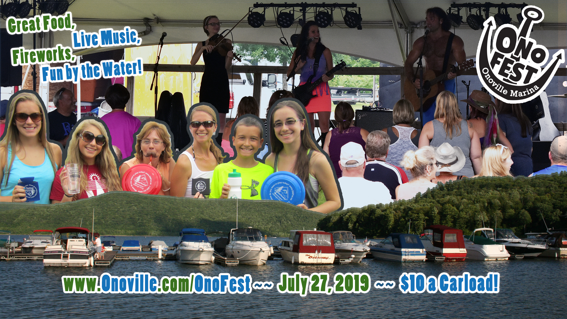 2019 Onofest at the Onoville Marina
