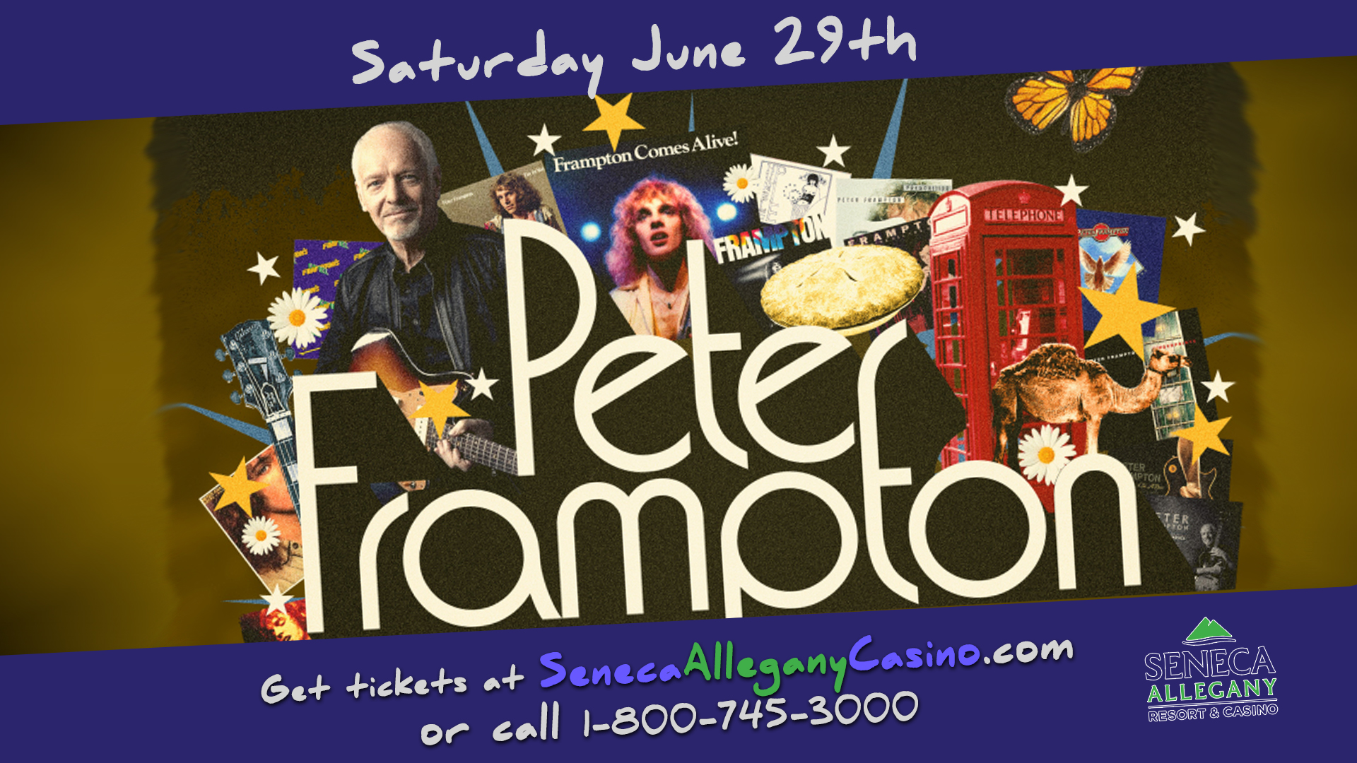 Peter Frampton at the Seneca Allegany Casino