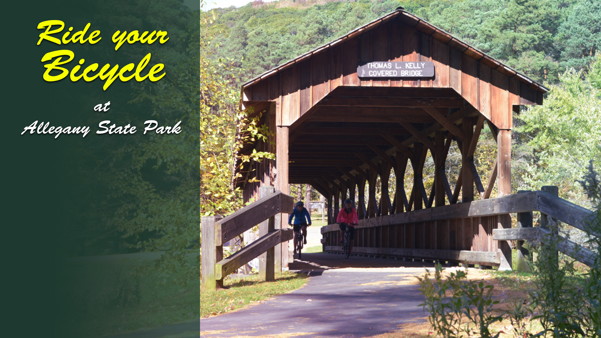 Where to bicycle in Cattaraugus County