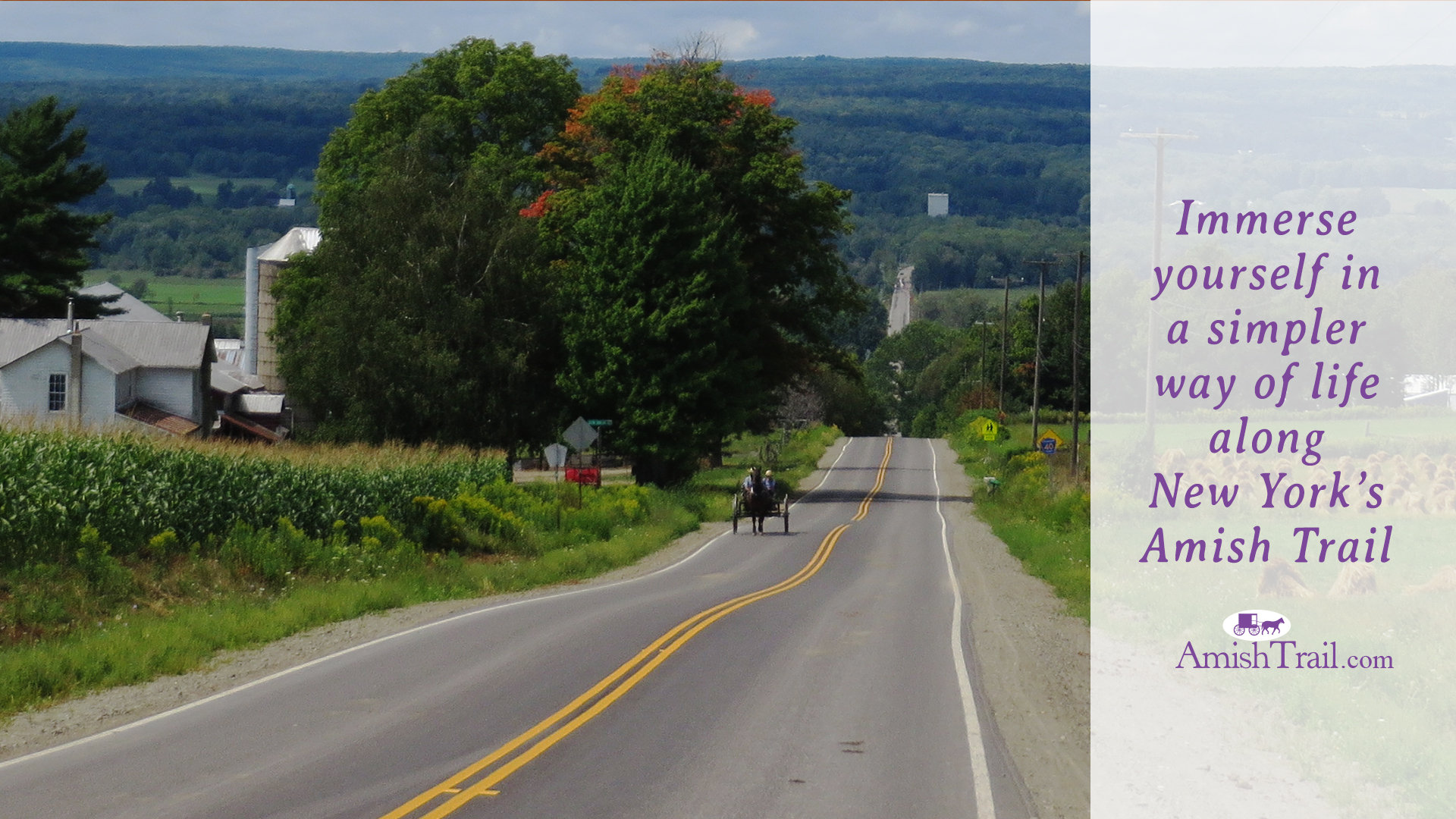 NY's Amish Trail in early Fall