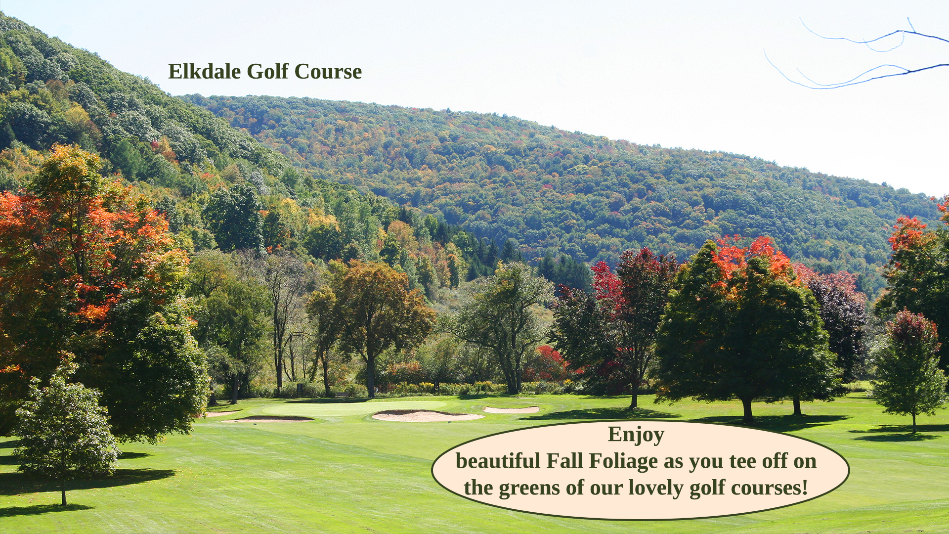 Cattaraugus County Golfing in the Fall