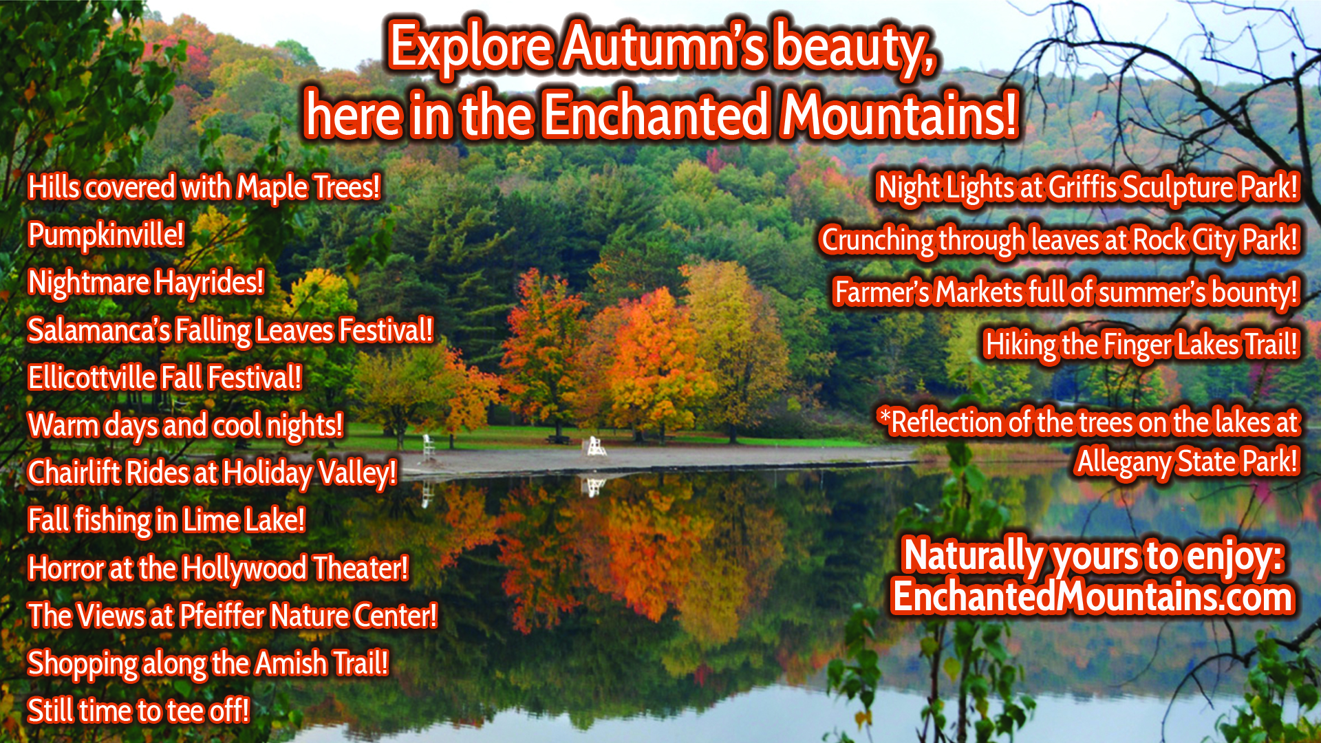 Things to do in Cattaraugus County in Fall 2019