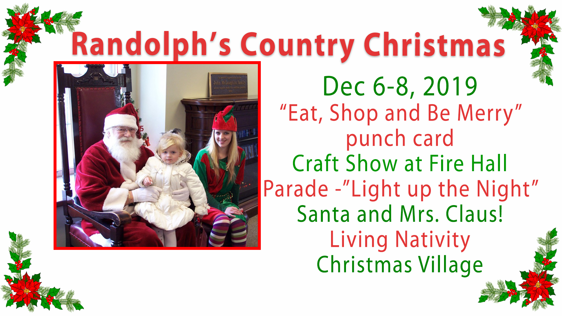 Randolph's Country Christmas 2019