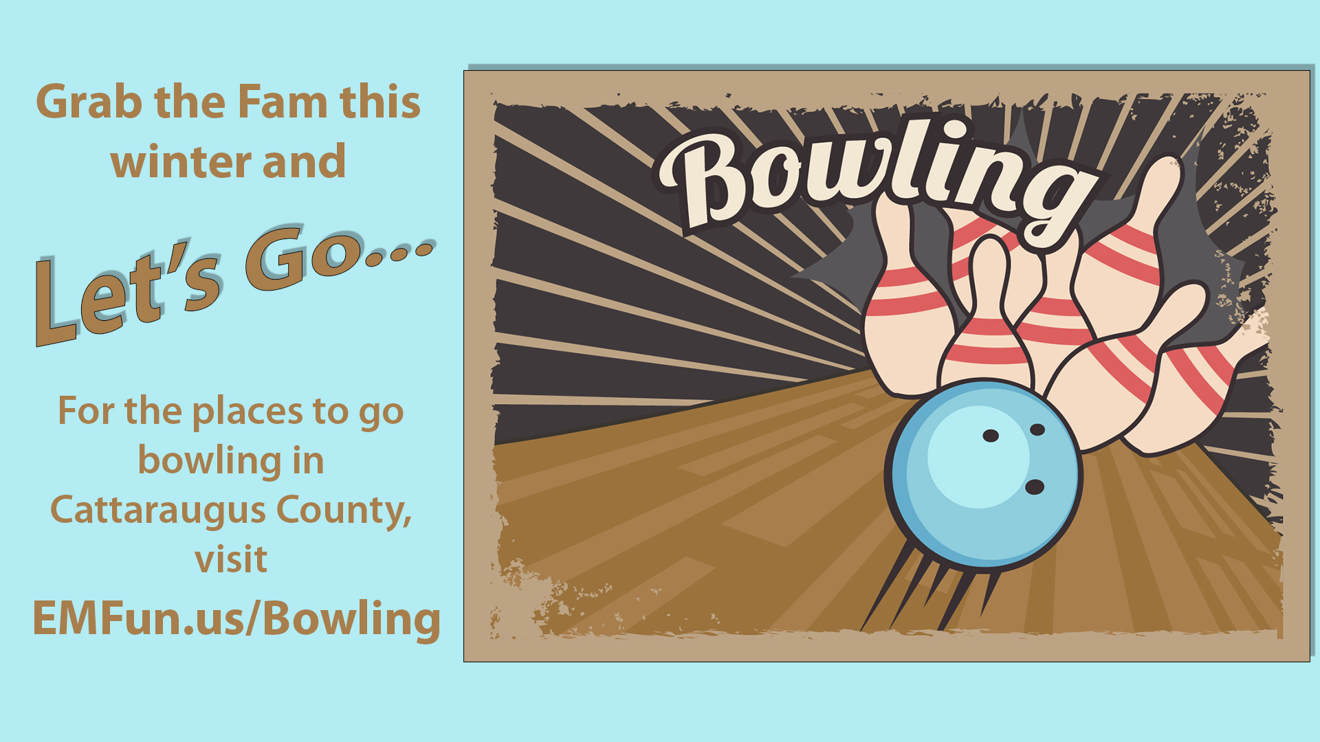 Go Bowling in Cattaraugus County