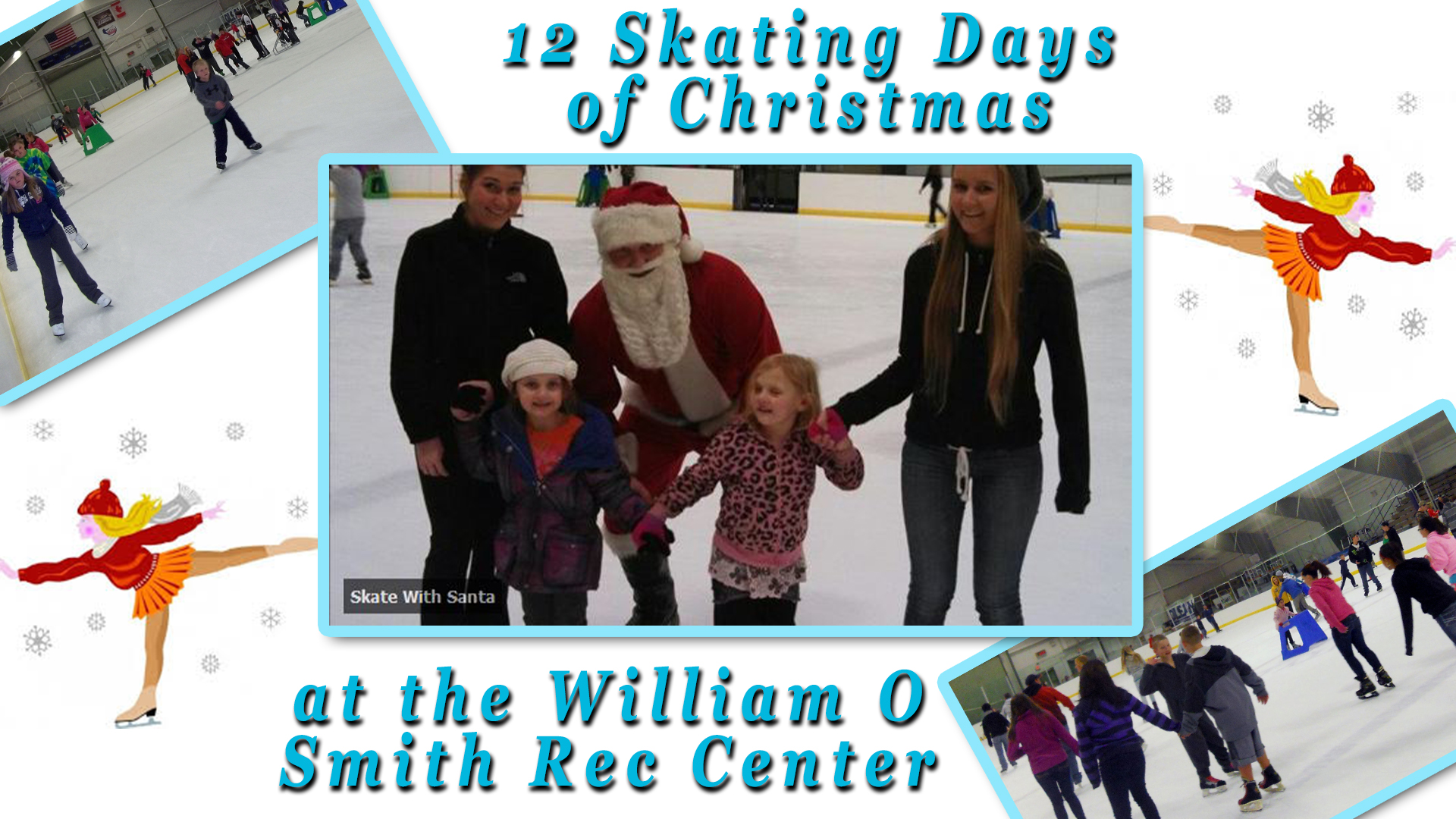 12 Skating Days of Christmas in Olean
