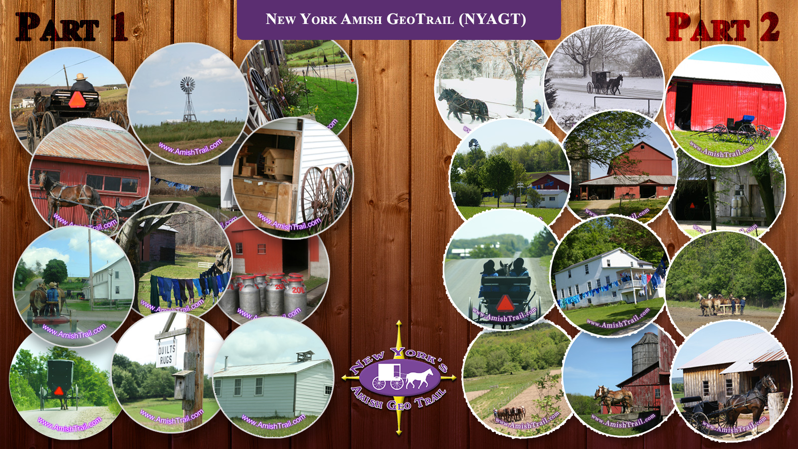 New York Amish GeoTrail Parts 1 & 2