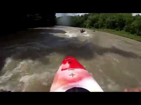 See the whitewater action on the Catt Creek!