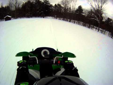 Follow pafirecat8 as he and his buddies ride around on the beautiful trails in Cattaraugus County!