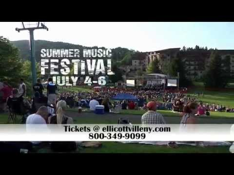 Video detailing the fun in the sun happening at The Summer Musical Festival in Ellicottville