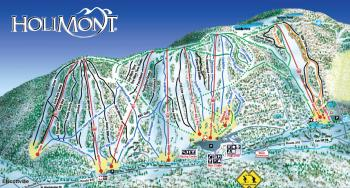 HoliMont Trails Map